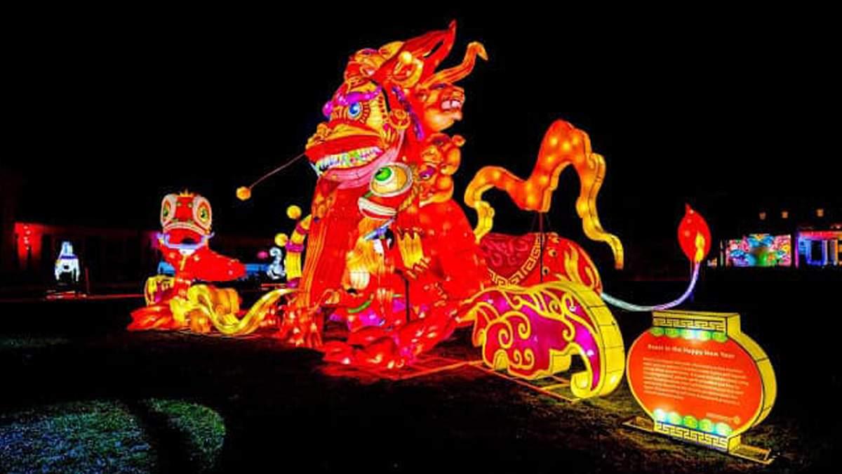 В Киеве состоится яркий фестиваль гигантских китайских фонарей