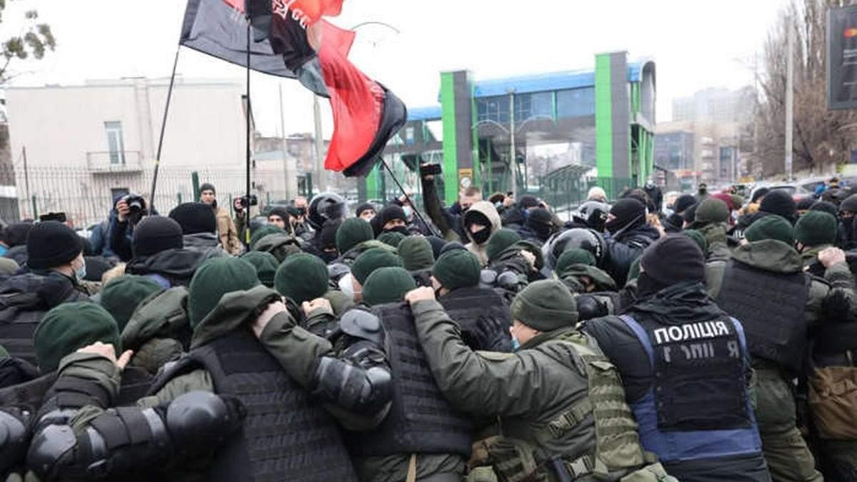 Задержанный под пророссийским каналом ветеран АТО угрожал самоубийством в отделении полиции