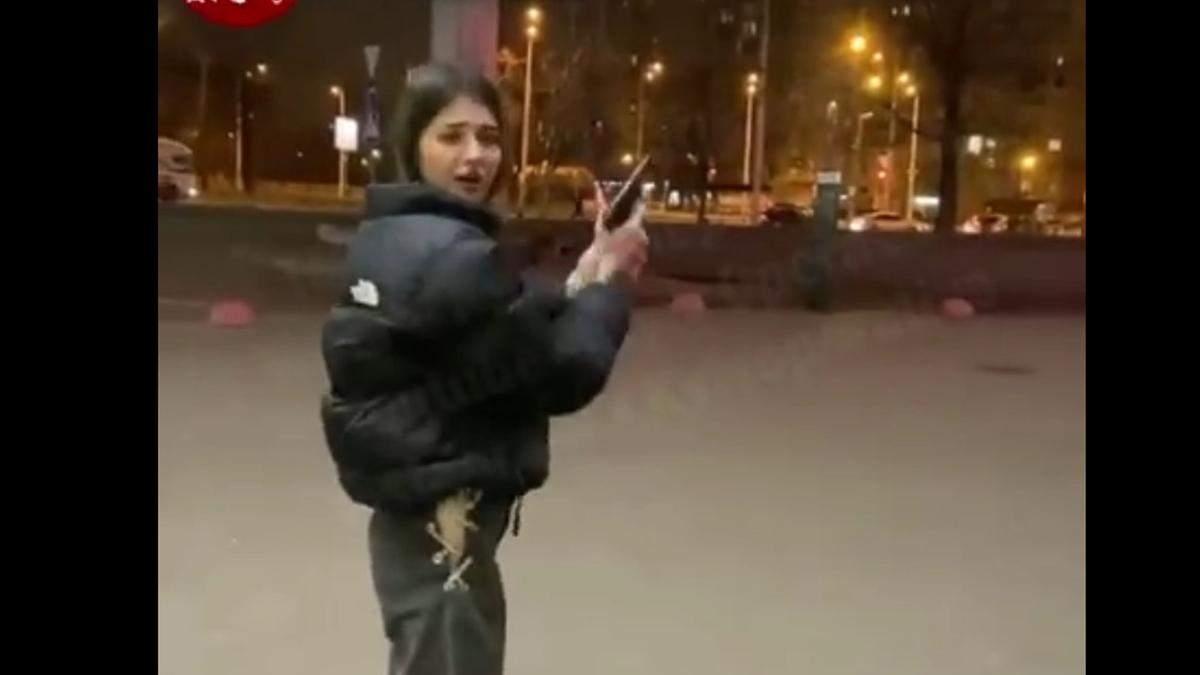Ігри з пістолетом: у Києві молодь влаштувала забави зі зброєю