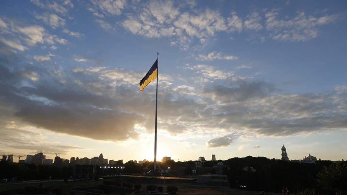 У Києві найбільший прапор України приспустили 7 березня 2021: усе, що відомо