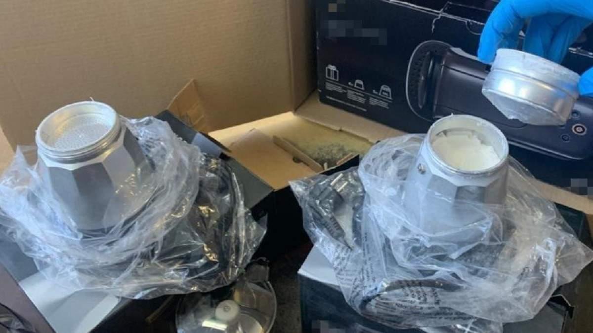 Полкило кокаина в кофеварке: СБУ помешала контрабанде