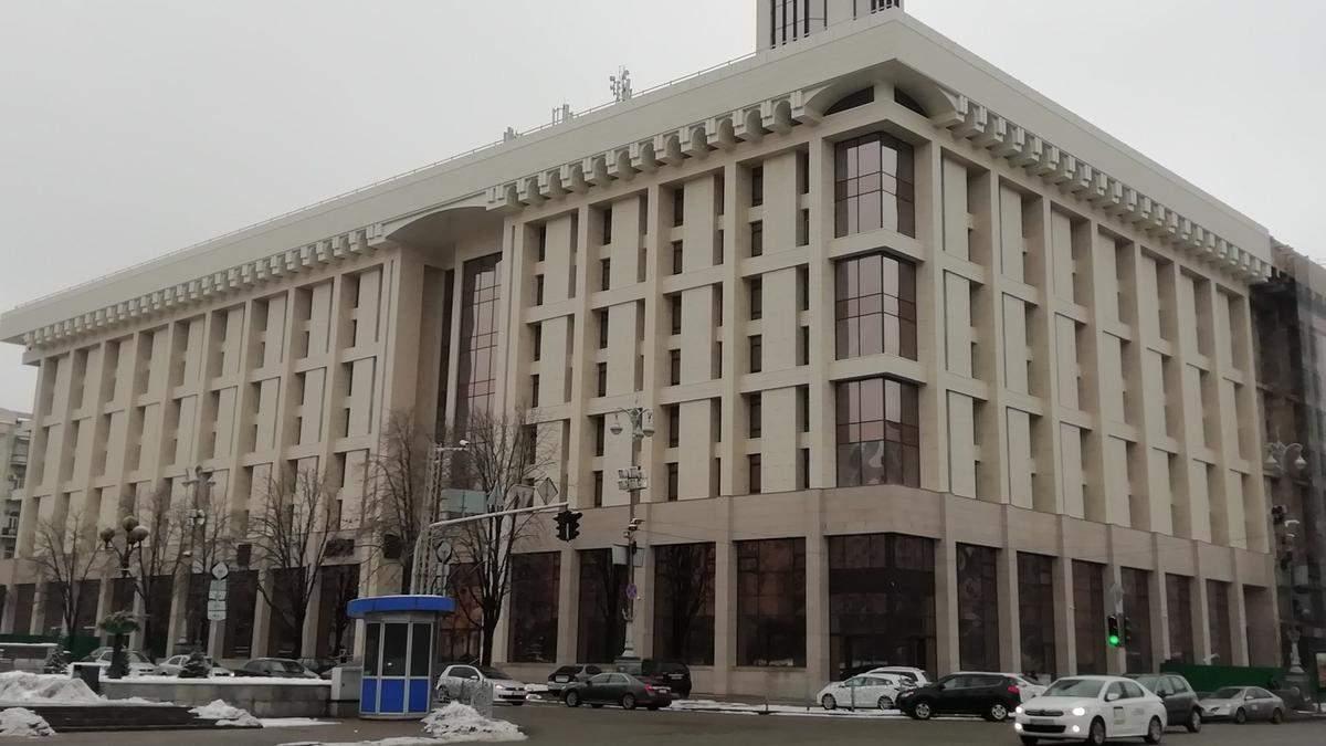 Ткаченко жестко отреагировал на открытие покерного клуба в Доме профсоюзов в Киеве