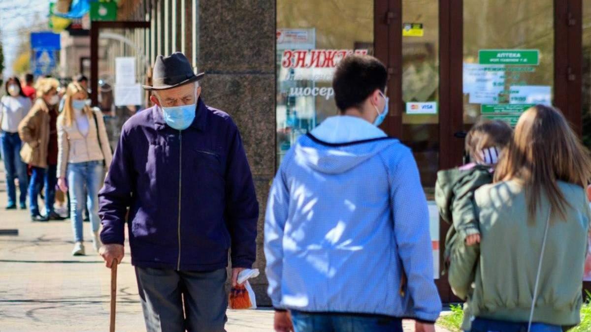 За 04.04.21 в Києві виявили 458 нових випадків ковіду