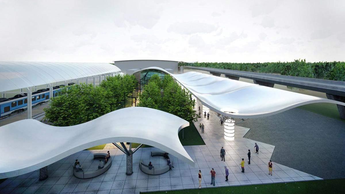 У Борисполі планують побудувати нову неймовірну автостанцію: фото