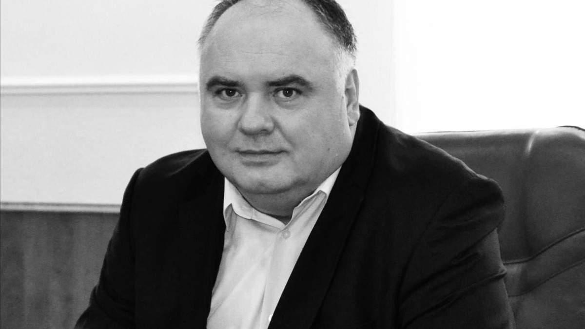 От COVID-19 умер председатель Подольского района Киева Виктор Смирнов