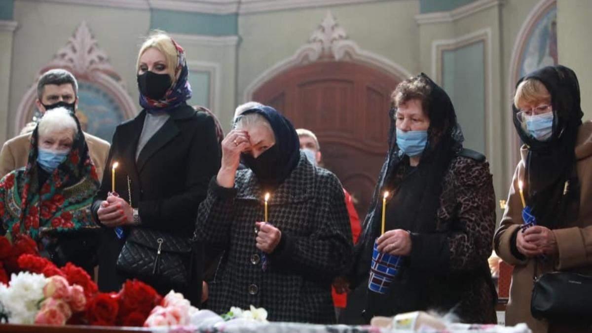 У Києві попрощалися з письменником Володимиром Яворівським