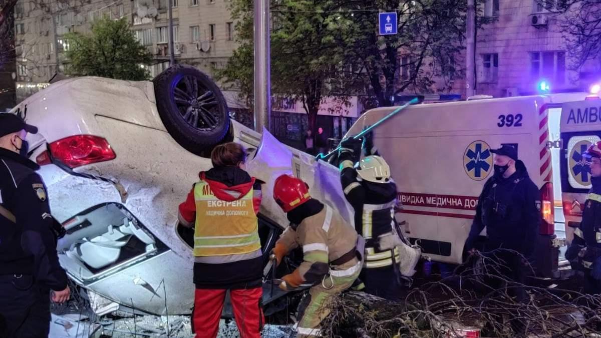 ДТП в Киеве 1 мая 2021 с участием пьяного водителя: погибла девушка