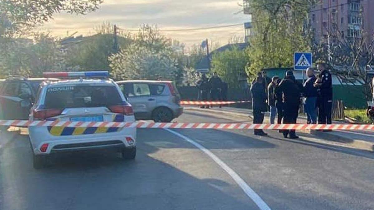 На Київщині водій збив поліцейського й спричинив ще 3 ДТП: відео