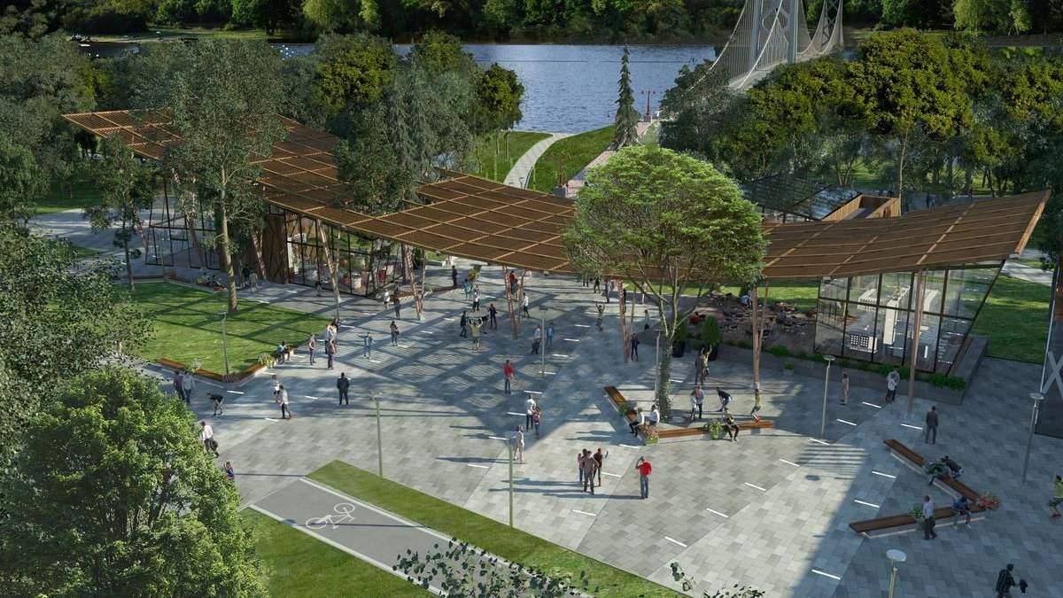 Вартість реконструкції Труханового острова збільшилася майже вдвічі