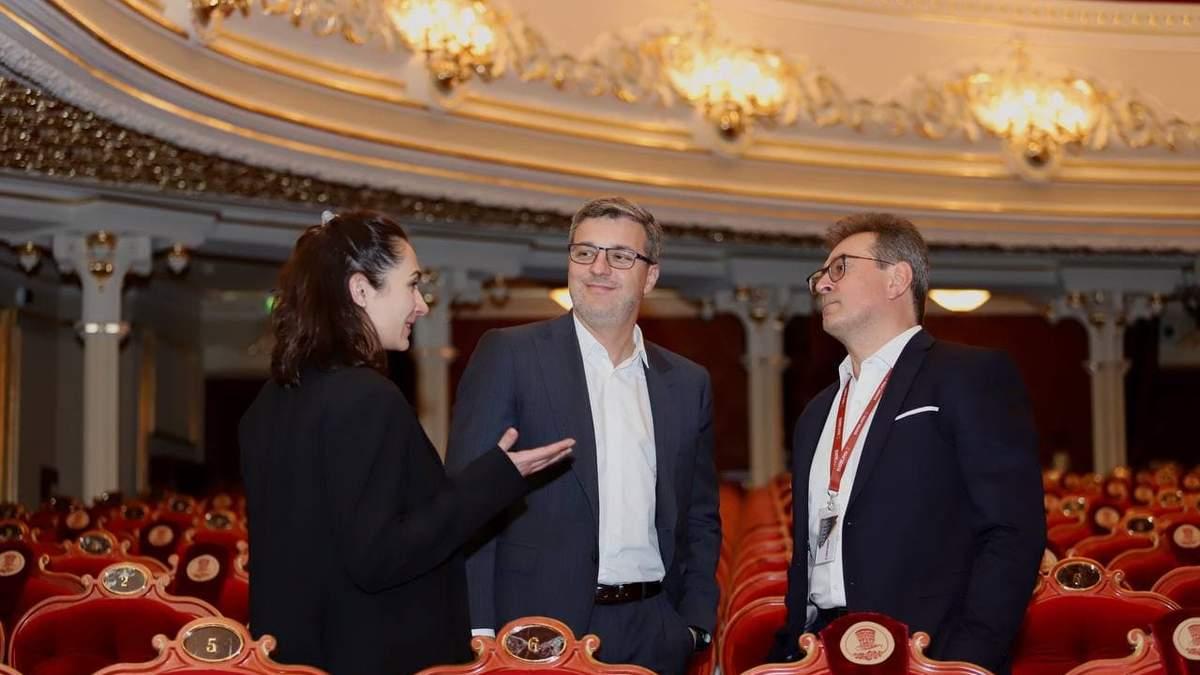 У Києві після масштабної реконструкції відкрили театр оперети