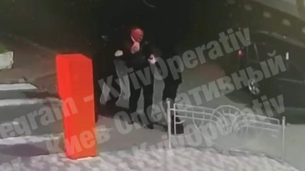 У Києві викрали бізнесмена із Сербії: відео