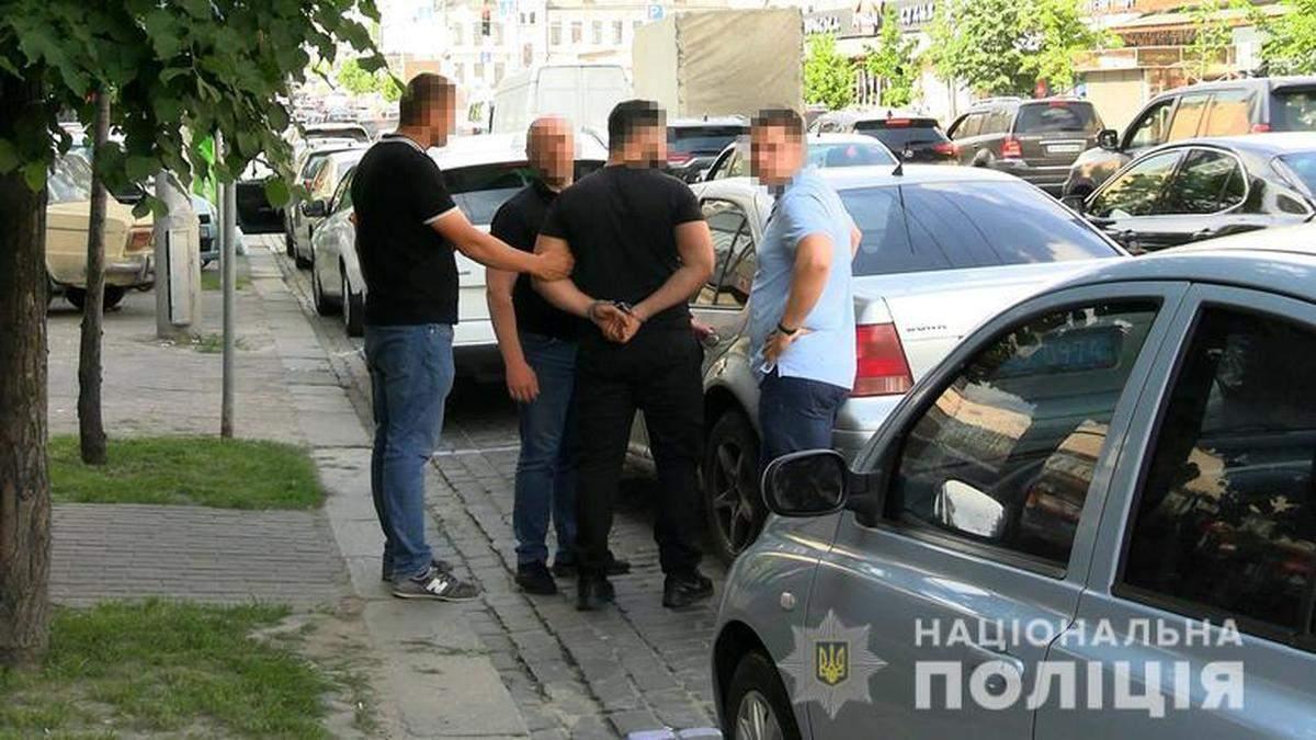 В Киеве полицейские задержали похитителей иностранца