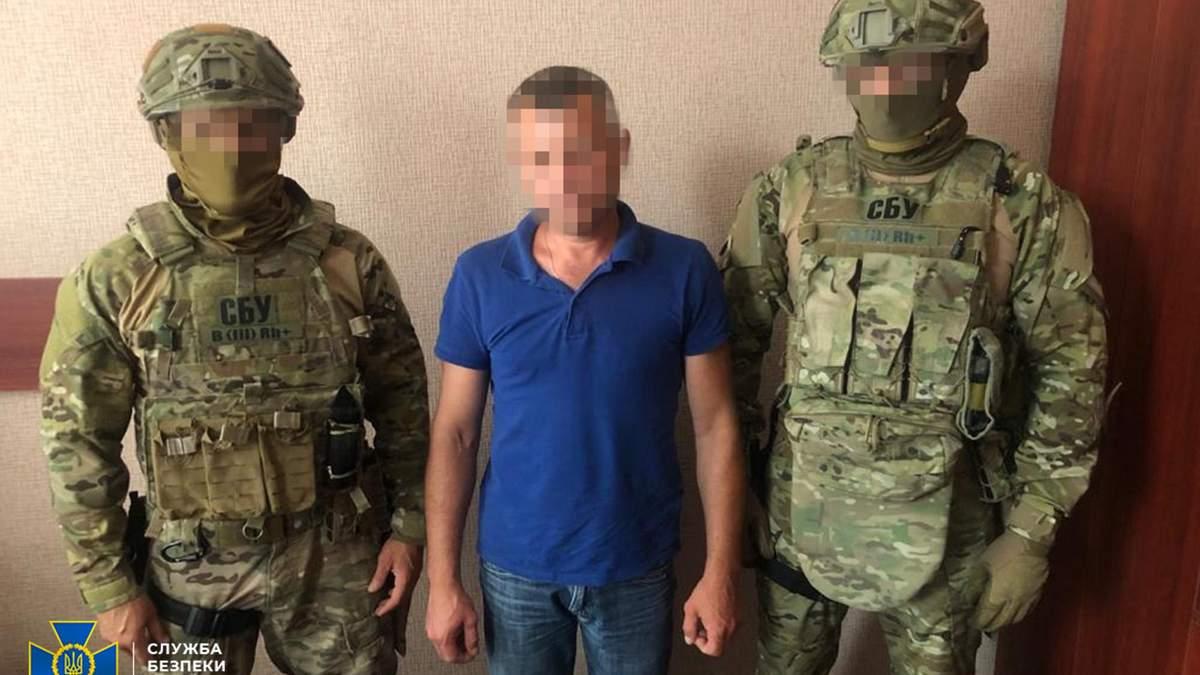 В Киеве разоблачили и задержали боевика из Луганщины