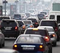 Пробки в Киеве 1 декабря