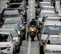 Пробки в Киеве 4 декабря
