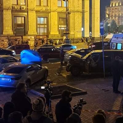 Был трезвым: в полиции показали видео ужасного ДТП на Крещатике – видео 18+