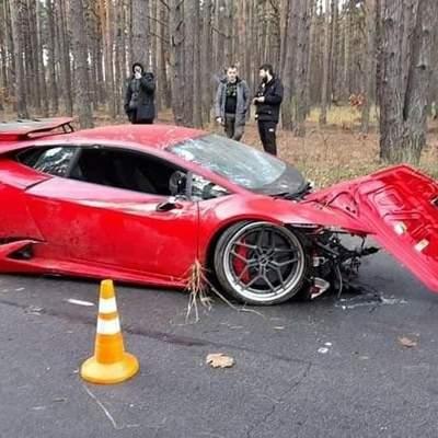 На захмарній швидкості: Під Києвом під час зйомок фільму вщент розбили Lamborghini – фото