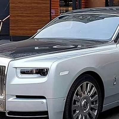 У Києві засвітилась машина-фантом: вона коштує понад 21 мільйон гривень