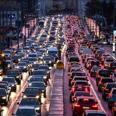 В Киеве назвали улицы с наибольшим трафиком – список