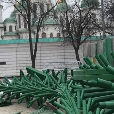 Полиция может ограничить доступ к Софийской площади в Киеве на новогодние праздники