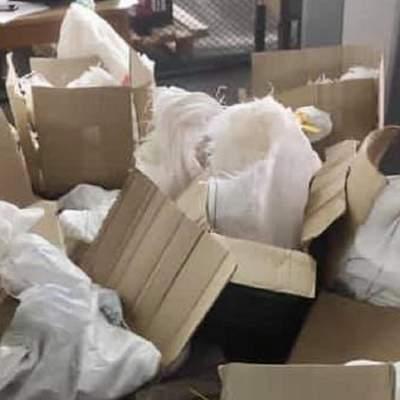 Почти 300 килограммов янтаря замаскировали под одежду: детали неудачной попытки контрабанды