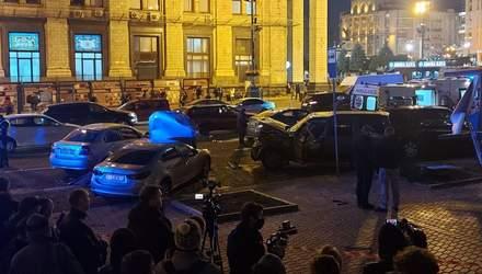 Был трезвым: в полиции показали момент ужасного ДТП на Майдане – видео 18+