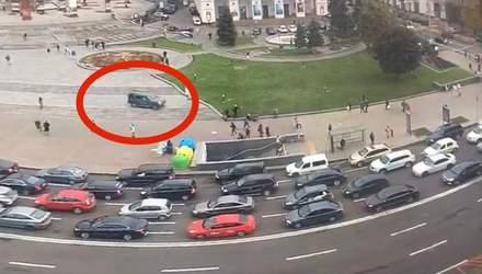 Виновнику ДТП на Майдане сообщили о подозрении