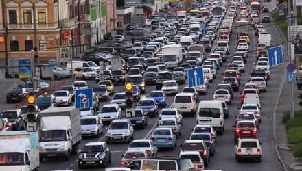 Пробки в Киеве 26 ноября