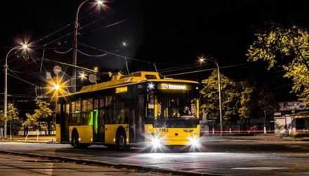 У Києві на одну ніч змінять рух тролейбусів: схема маршруту