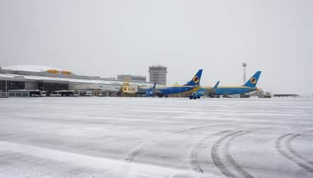 """В киевский аэропорт """"Борисполь"""" задерживается прилет 8 рейсов, еще 3 отменили"""