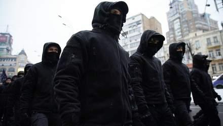 """У Києві затримали 9 """"тітушок"""" ОПЗЖ: стріляли на мітингу проти забудови, аби залякати людей"""