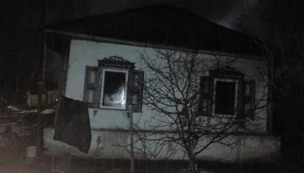 На Київщині у пожежі загинуло 2 людей