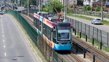 Из-за ремонта Индустриального путепровода: Киев останется без скоростного трамвая