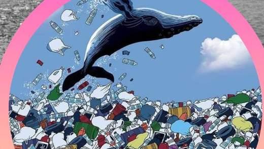 У Києві з'явиться гігантська медіа-скульптура кита: він показуватиме екологічний стан міста