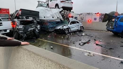 У Техасі зіткнулось понад 130 автомобілів: загинуло щонайменше 6 осіб – фото, відео